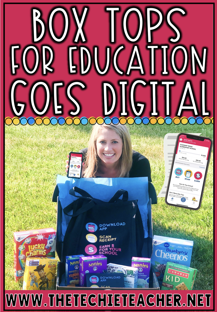 Box Tops Goes Digital with their new and improved mobile app that will have you scan your receipt to earn money for your school.