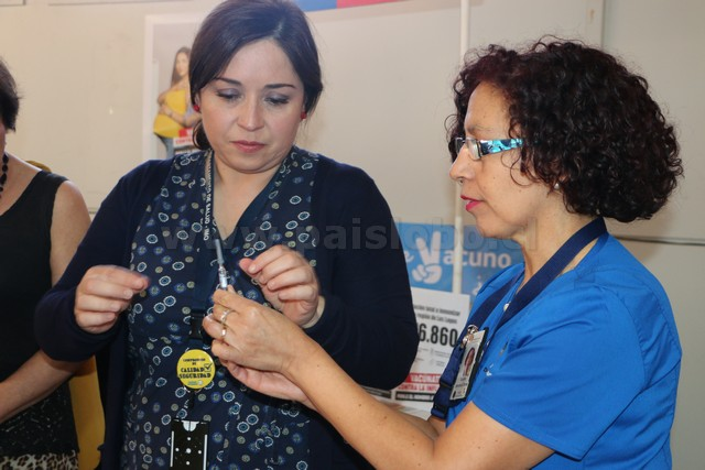 Vacunación contra la influenza