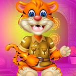 Games4King -  G4K Desolate Tiger Escape