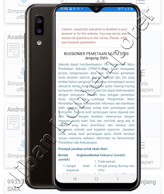 Cara Upload Isian Instrumen Survei Offline ke Aplikasi EDS PMP 2020 Covid 19