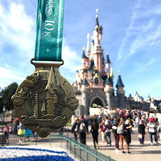 Disneyland Paris Magic Run Week End 2017 - médaille 10K