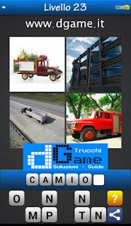 PACCHETTO 6 Soluzioni Trova la Parola - Foto Quiz con Immagini e Parole livello 23