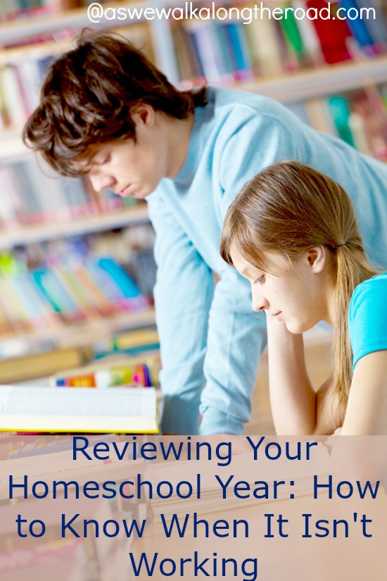 Reviewing your homeschool year