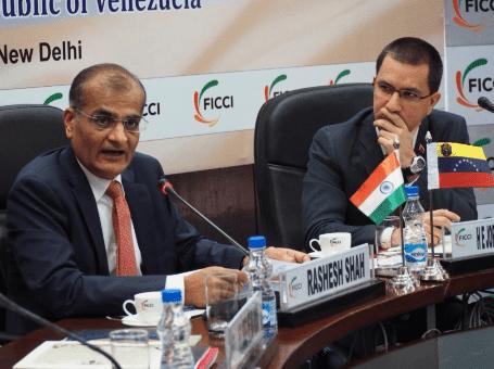 Venezuela y la India estrechan lazos de cooperación comercial