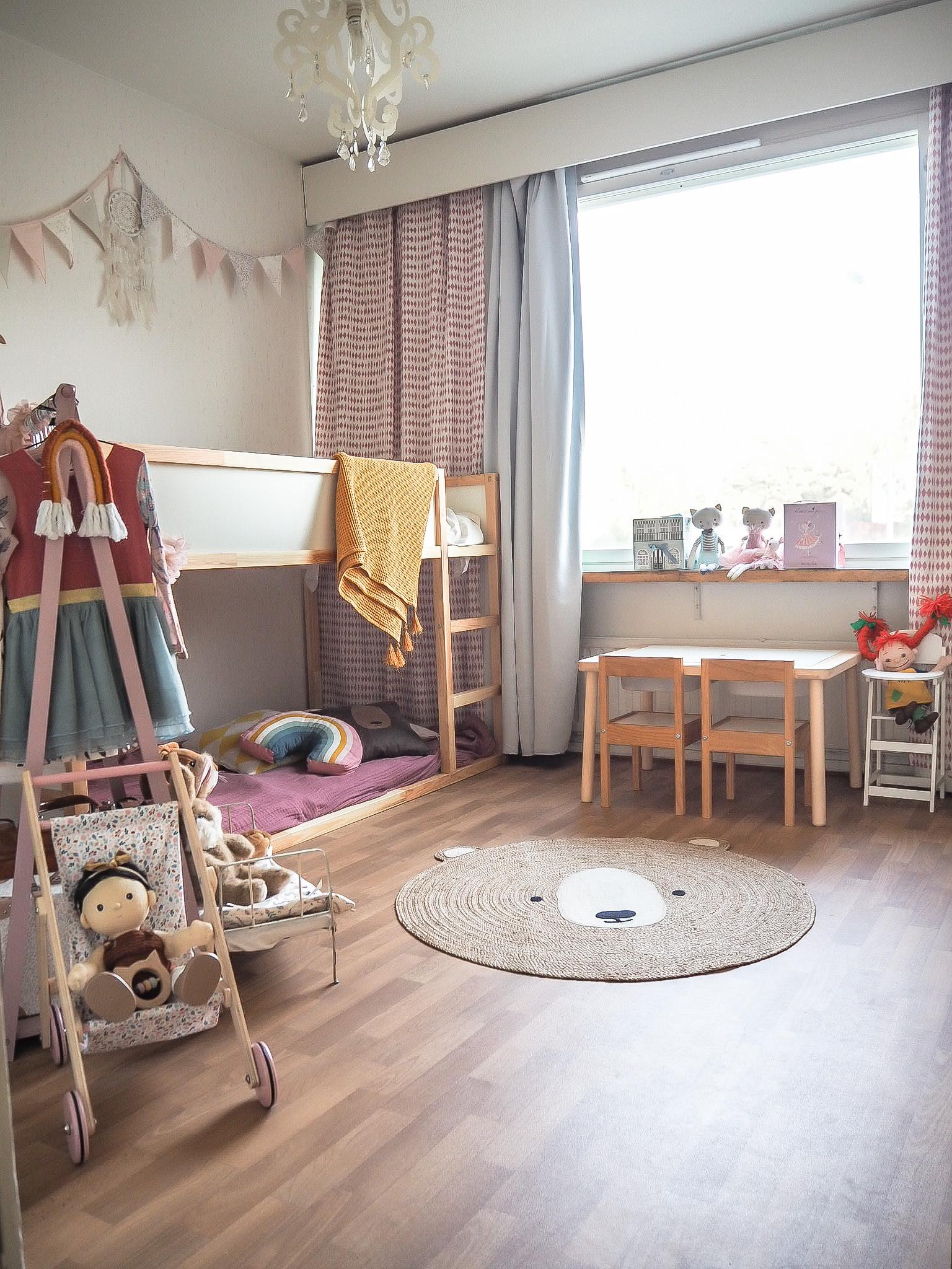 Lastenhuoneen esittely