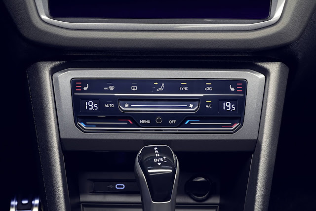 Novo VW Tiguan 2021 R-Line - interior