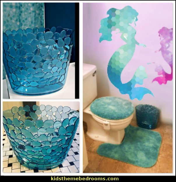 mermaid bathroom decor  ocean bathroom decor under the sea theme bathroom decorating