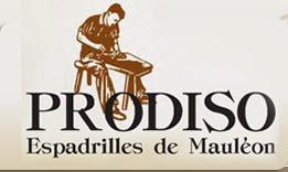 magasin de déstockage des Espadrilles Prodiso à Mauléon Soule dans les Pyrénées Atlantiques