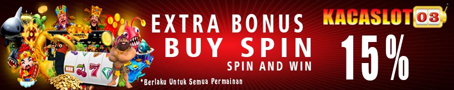 PROMO EXTRA BONUS BUY FREE SPIN ALL PROVIDER SLOT