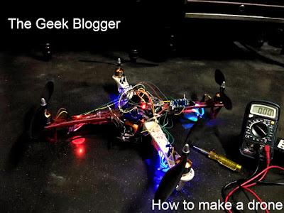 How to make a quadcopter using Arduino Uno?