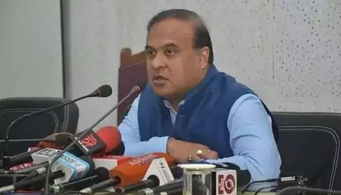 If there are more than two children, government facilities will not be available. said Himanta Bishwa Sharma