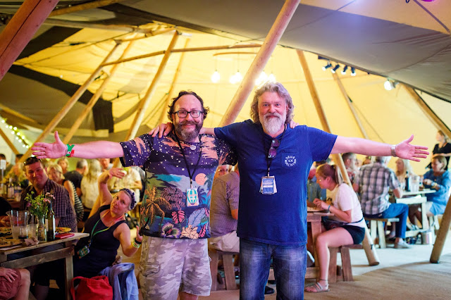 Hairy Bikers at Cornbury Music Festival