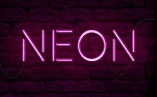 cara membuat efek teks neon di photoshop
