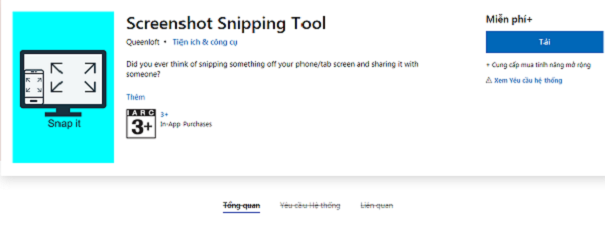Tải Snipping Tool - Phần mềm chụp ảnh màn hình Win 7/10 miễn phí d