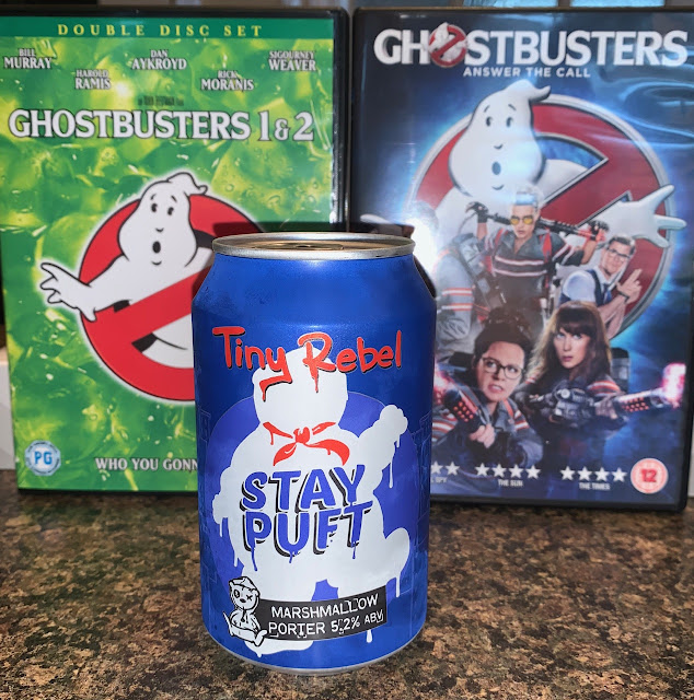 Stay Puft Marshmallow Porter Tiny Rebel