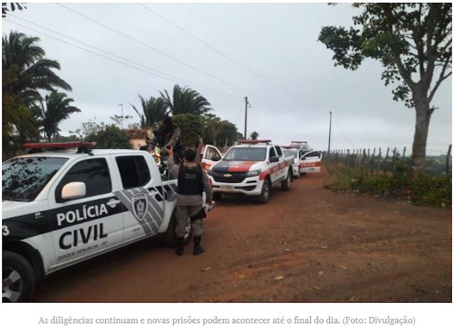 Polícia realiza Operação de combate ao furto de gado nos municípios de Remígio e Algodão de Jandaíra