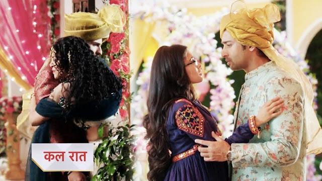 Romance : Abeer Mishti's golden moment of unspoken love  in Yeh Rishtey Hai Pyaar Ke