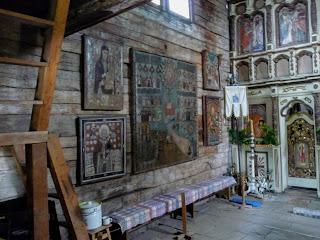 Ужгород. Музей народної архітектури та побуту. Церква святого Архистратига Михаїла