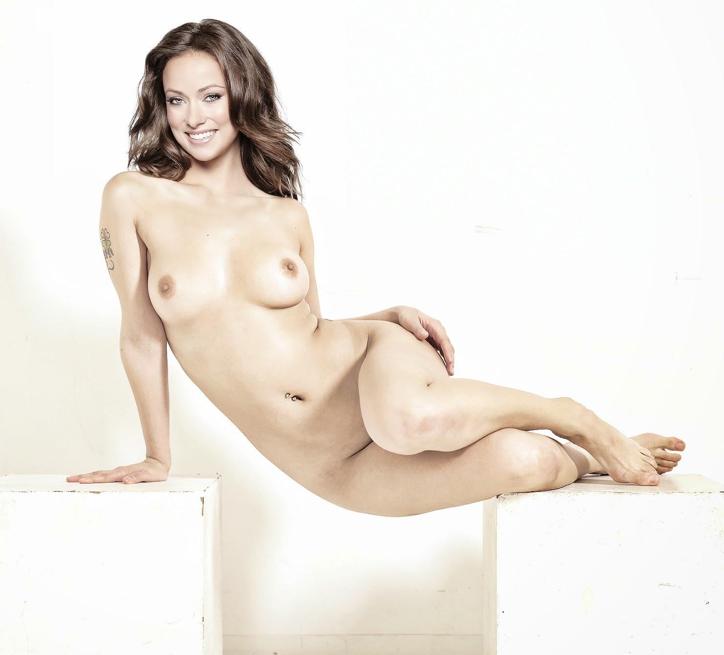 Olivia Wilde Naked Titties In Vinyl On Scandalplanetcom