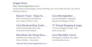 Sitelink yang ada pada Blogger Firaun ini didapatkan dalam waktu kurang lebih 2 bulan saja