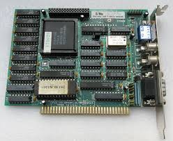 EGA (Enhaced Grapich Adapter).