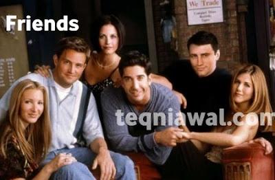 Friends- أفضل المسلسلات