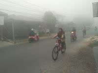 Amuntai Berselimut Kabut Asap