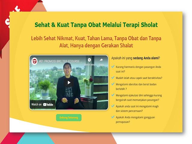 Pelatihan Terapi Gerakan Sholat untuk Kesehatan Alat Vital di Mojokerto