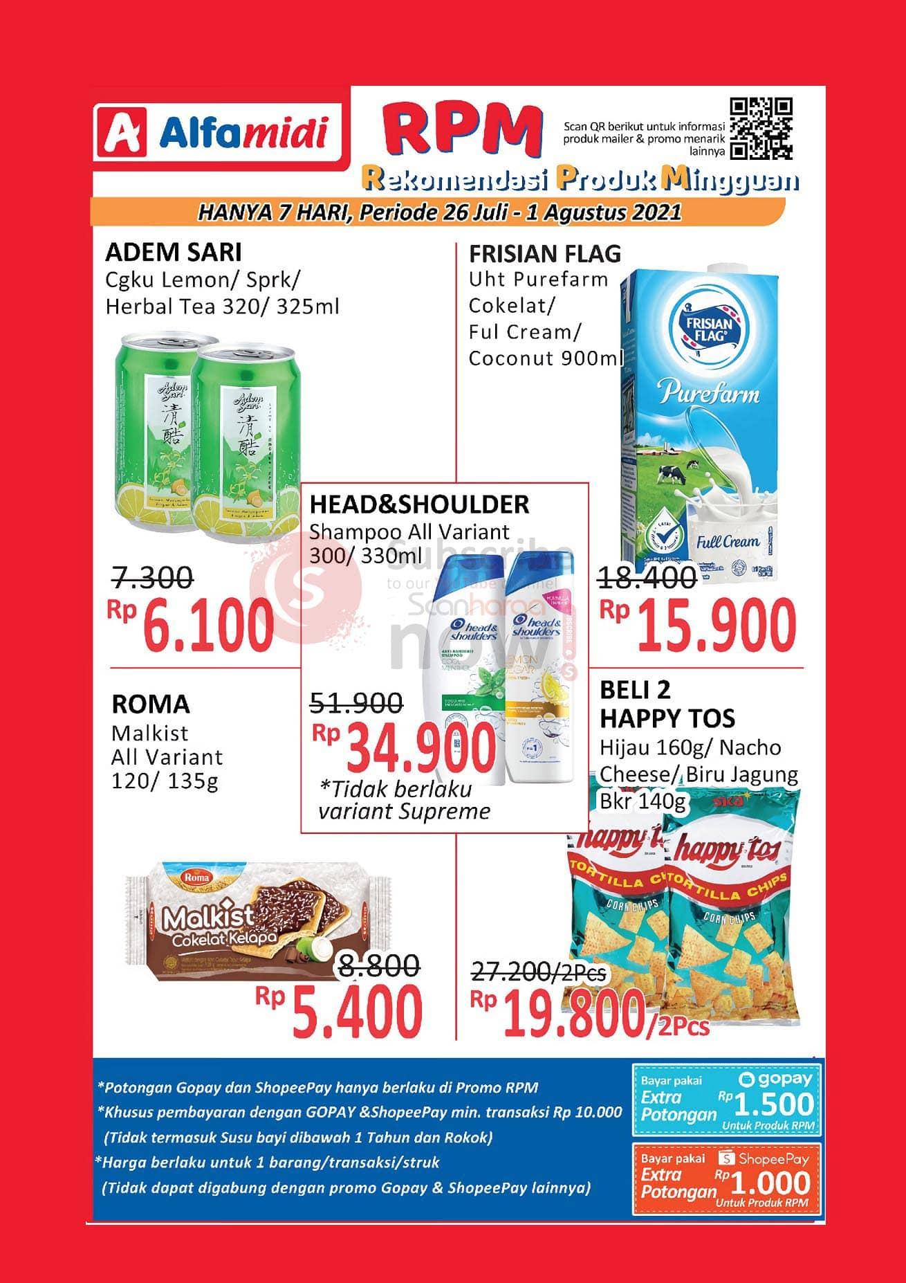 Promo ALFAMIDI RPM Periode 26 Juli - 1 Agustus 2021