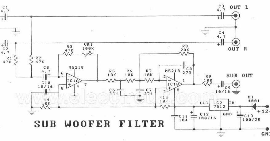 Groovy Amplifiercircuits Com Subwoofer Filter Circuit Board Wiring Digital Resources Remcakbiperorg