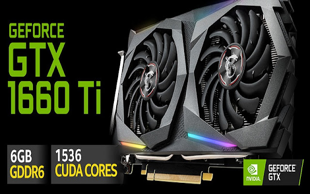 La nueva GTX 1660 Ti se vende por menos de $300