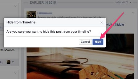 how to hide posts on facebook from public