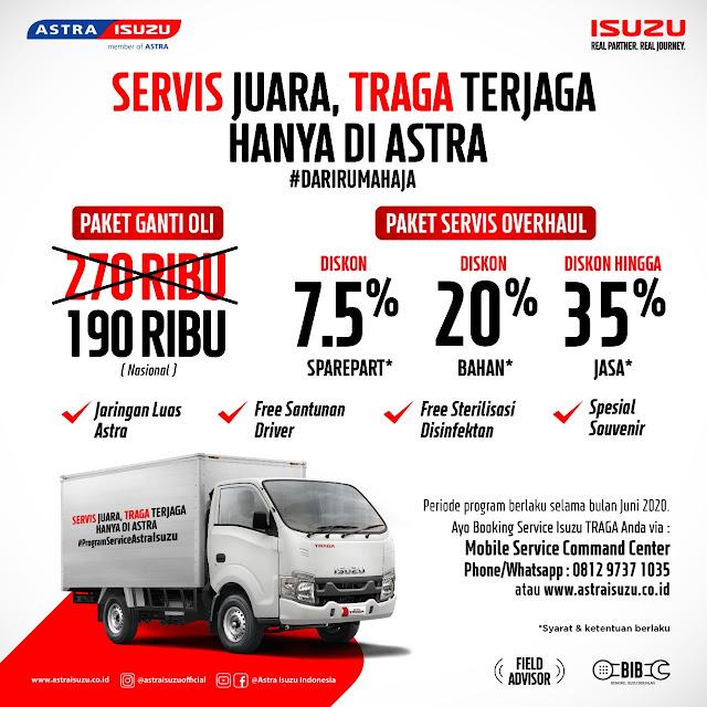 promo service isuzu