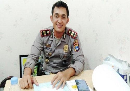Kasat Lantas Polres Tanbu Iptu GM Angga Satria Wibawa SIK