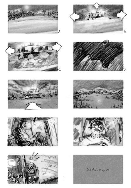 Rocco Schiavone #storyboard