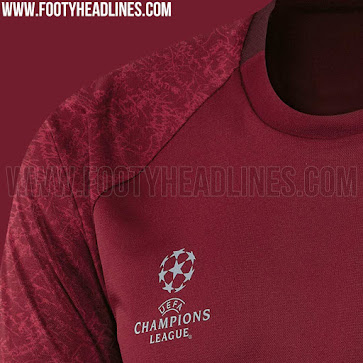 The sleeves of the Bayern 16-17 training kit show a nod towards the design  of the 2016-17 Champions League ball which features similarly-styled 2d7d23a25