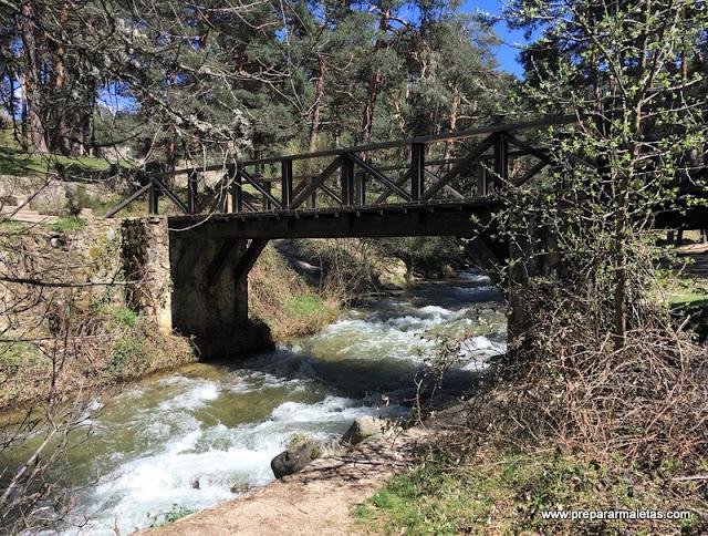 rutas senderismo Sierra Guadarrama Segovia