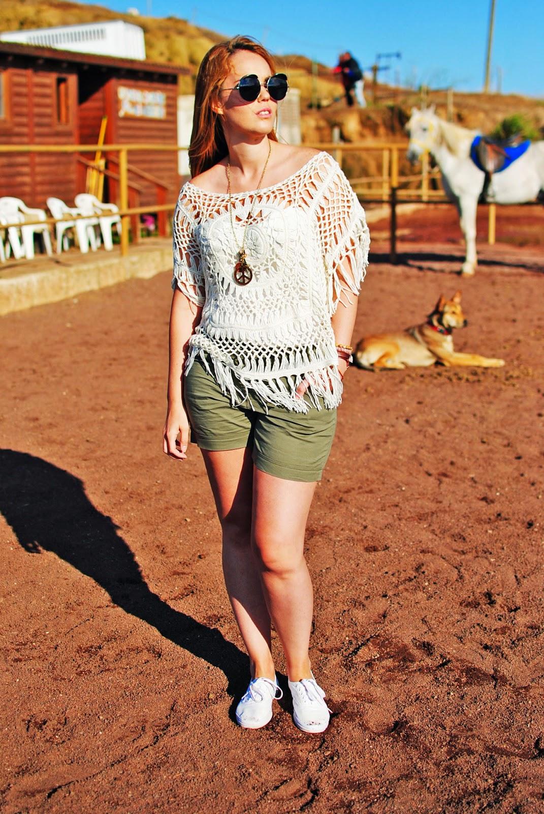 #CyATenerife, ganchillo, nery hdez, look sport, crochet , 80spurple, look para montar a caballo