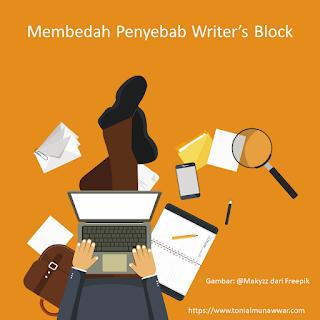 penyebab writer's block