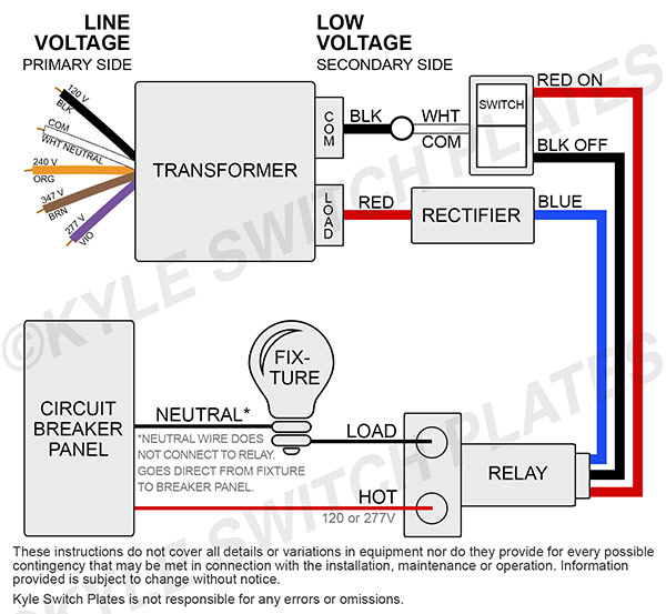 Low Voltage Relay Wiring - exclusive wiring diagram design on