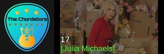 Julia Michaels - 17 Guitar Chords (Inner Monologue Part. 2) |
