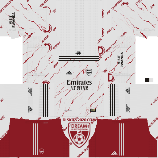 Arsenal F.C. Kits 2020-2021 Nike For Dream League Soccer 2019 (Away)