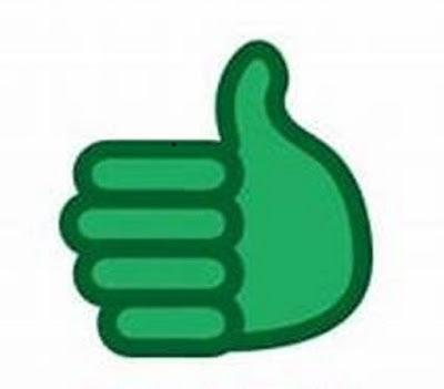 अच्छे तरीके से बिजनेस ब्लॉग कैसे लिखें, अच्छा लेखन के लिए हरे रंग में दिखाया गया अंगूठा। बिजनेस ब्लॉग कैसे लिखें? Business Blog Writing