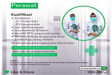 Lowongan Kerja Perawat RS Hermina Bandung