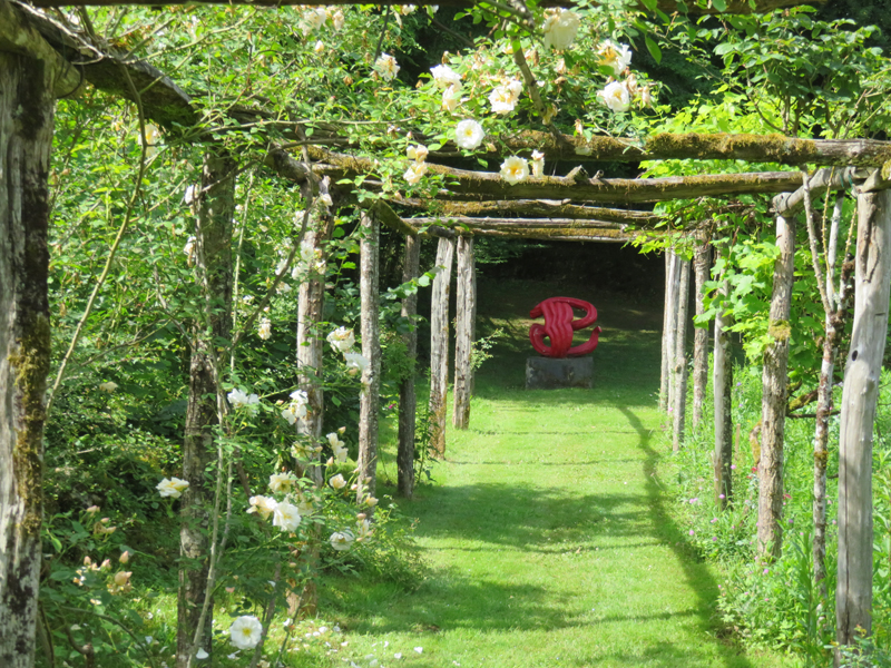 A Small Village In France Special Open Gardens In The Dordogne
