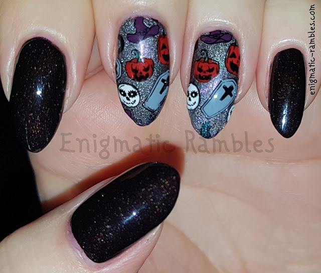 Halloween-Nails-Pumpkins-Coffins