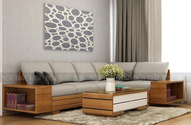 Ghế sofa gỗ hiện đại và sang trọng