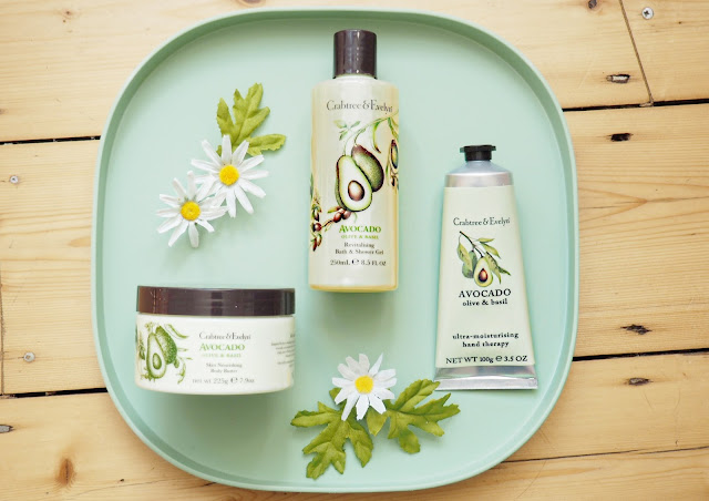 crabtree & evelyn avocado, olive and basil