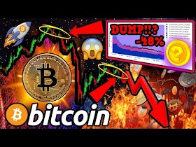 BITCOIN EXTREME DUMP POSSIBLE!!! Global MELTDOWN! Oil PLUNGES! BEAR TRAP? 🔥