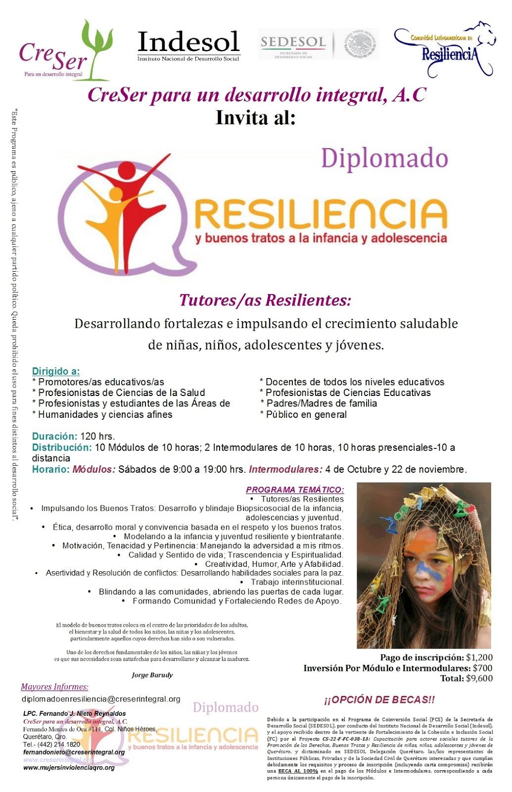 Comunidad Latinoamericana En Resiliencia Diplomado